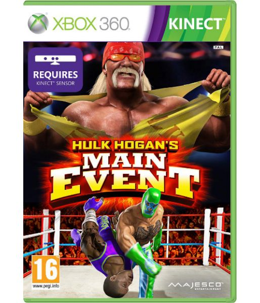 Hulk Hogan's Main Event [для MS Kinect] (Xbox 360)
