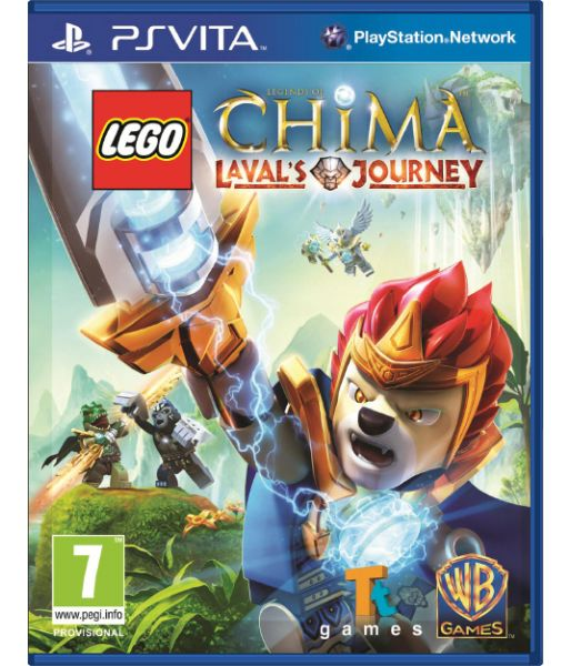 LEGO Legends of Chima: Laval's Journey [русская документация] (PS Vita)
