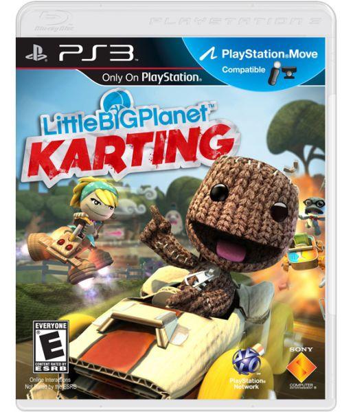 LittleBigPlanet Картинг [с поддержкой PS Move, русская версия] (PS3)