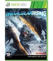 Metal Gear Rising: Revengeance [русская документация] (Xbox 360)