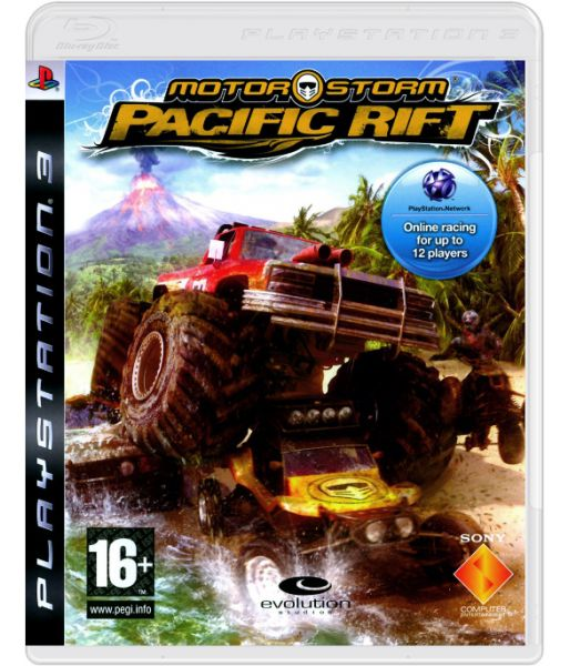 Motorstorm: Pacific Rift [Case Set, русские субтитры] (PS3)