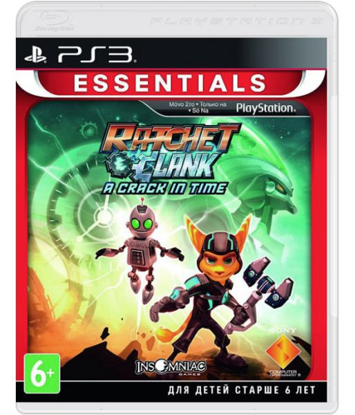 Ratchet and Clank: A Crack in Time [Essentials, русская документация] (PS3)