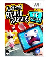 Rayman Raving Rabbits: TV party (Wii)
