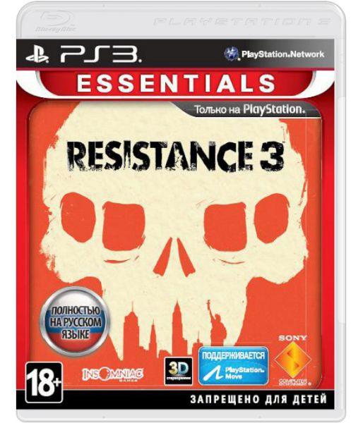 Resistance 3 [Essentials, с поддержкой PS Move, русская версия] (PS3)