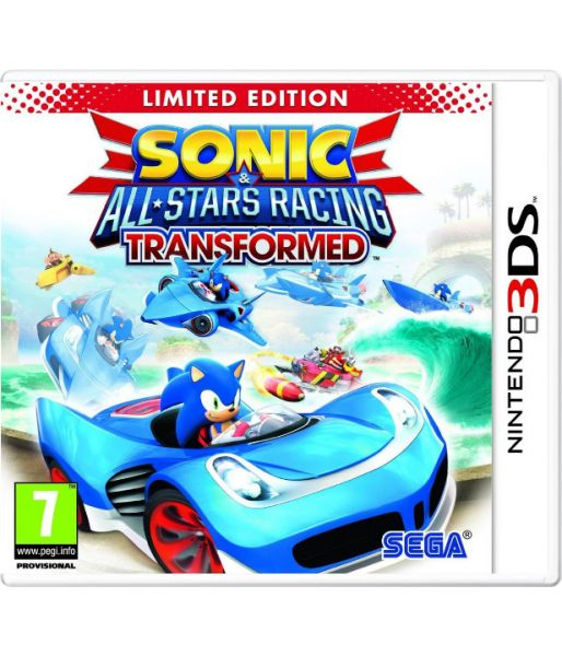 Sonic & All-Star Racing Transformed. Limited Edition (3DS)