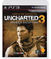 Uncharted 3: Иллюзии Дрейка. Game of the Year Edition [поддержка 3D, русская версия] (PS3)