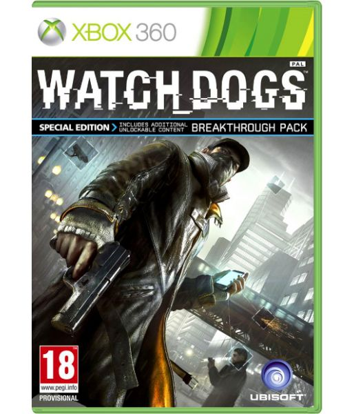 Watch Dogs. Special Edition [Русская версия] (Xbox 360)