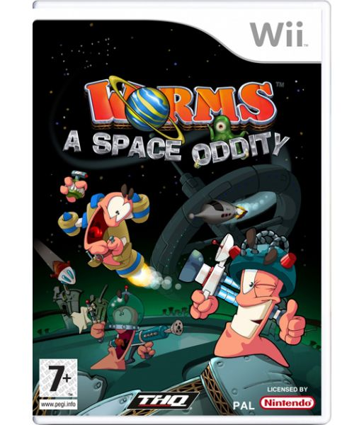 Worms: a Space Oddity [русская документация] (Wii)