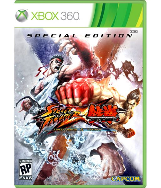 Street Fighter X Tekken. Special Edition [русские субтитры] (Xbox 360)