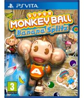 Super Monkey Ball: Banana Splitz [русская документация] (PS Vita)