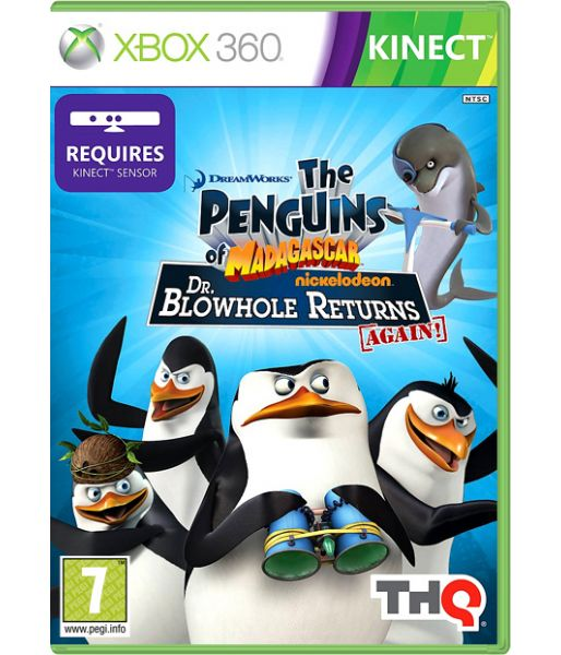Penguins of Madagascar: Dr. Blowhole Returns Again! [для Kinect, рус. док.] (Xbox 360)