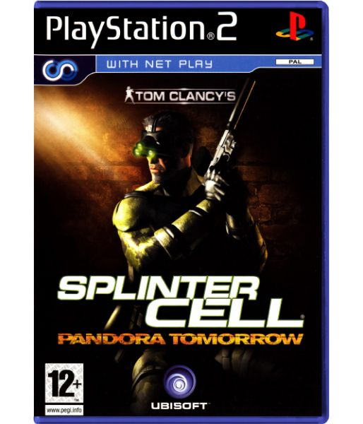 Tom Clancy's Splinter Cell: Pandora Tomorrow [русская инструкция] (PS2)