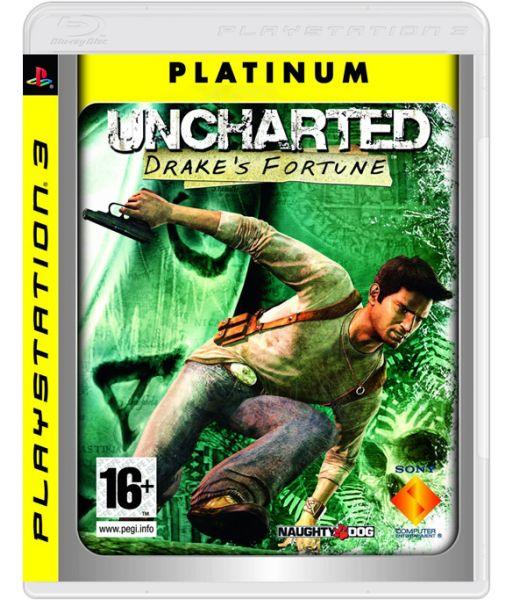 Uncharted: Drake's Fortune [Platinum] (PS3)