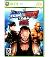 WWE Smackdown vs Raw 2008 [classics] (Xbox 360)