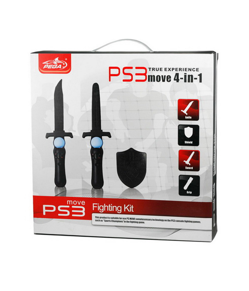 PS3 Набор 4 в 1 Fighting Kit для PS Move (PG-PM006)
