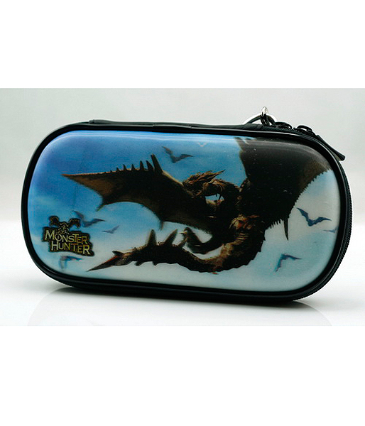 Slim 3000 Сумка жёсткая 3D Monster Hunter (P3000-27) (PSP)