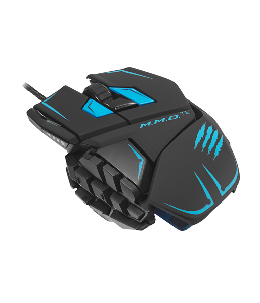 Мышь Mad Catz M.M.O.TE Gaming Mouse - Matt Black проводная лазерная (MCB437140002/04/1) (PC)