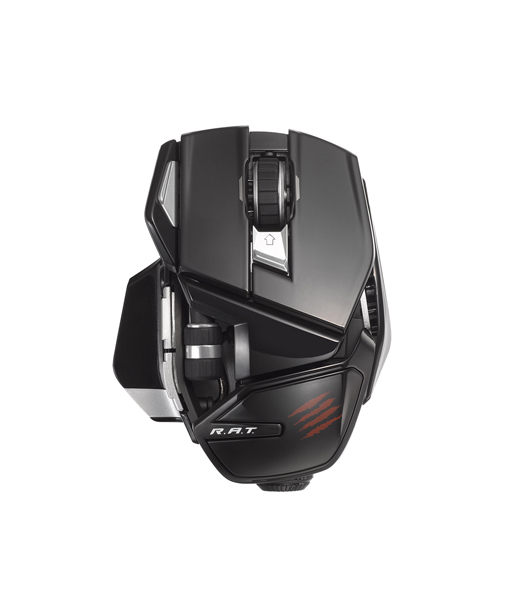 Mad Catz Office R.A.T Wireless Mouse - Gloss Black беспроводная лазерная (MCB4372400C2/04/1) (PC)