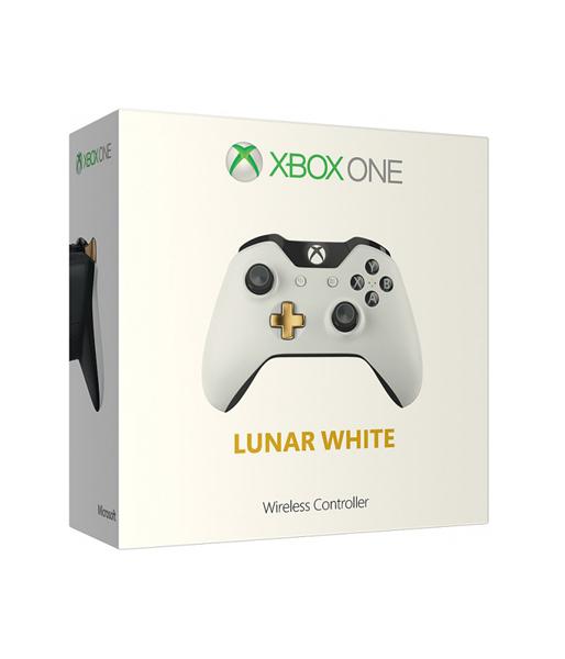 Геймпад беспроводной в раскраске lunar white белый/золотой Wireless Gamepad (GK4-00019) (GK4-00013) (XboxOne)