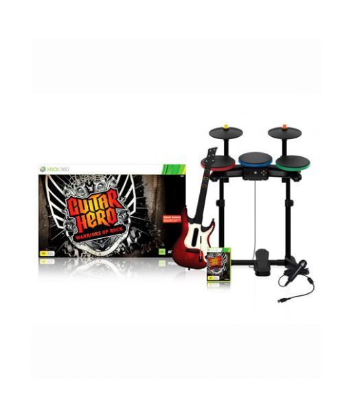 Guitar Hero: Warriors of Rock - Band Bundle [Игровой комплект] (Xbox 360)