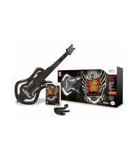 Guitar Hero: Warriors of Rock - Guitar Bundle [Игровой комплект] (Wii)