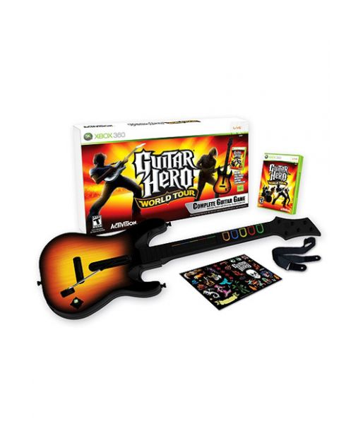 Guitar Hero: World Tour Bundle [Игровой комплект] (Xbox 360)