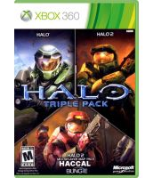 Halo Triple Pack [Halo 3 + Halo 3 ODST + Halo Wars] (Xbox 360)