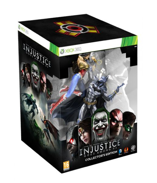 Injustice: Gods Among Us. Collector's Edition (Xbox 360)