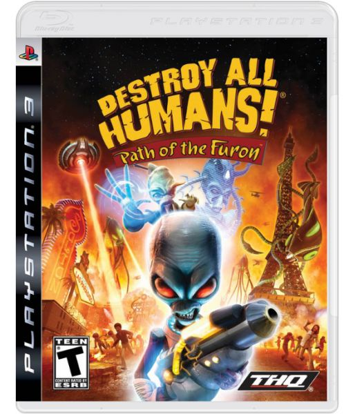 Destroy All Humans! Path of The Furon [русская версия] (PS3)