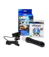 Epic Mickey 2: The Power of Two [русская версия] + Камера PS Eye + PS Move (PS3)