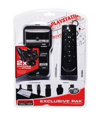 MadCatz Exclusive Pak: 2x Charge Station+HDMI Cable+Remote+Charge Cable (PS3)