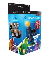 PS Move Starter Pack [Камера PS Eye + Контроллер PS Move + Демо-диск] (PS3)