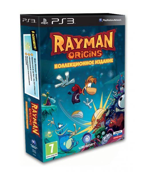 Rayman Origins Коллекционное издание [русская версия] (PS3)