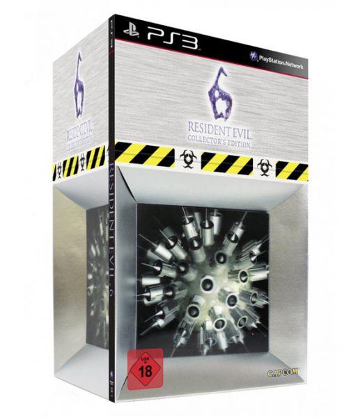 Resident Evil 6 Collector's Edition [Обитель зла 6, русская версия] (PS3)