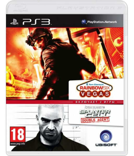 Tom Clancy's Splinter Cell Double Agent & Tom Clancy's Rainbow Six Vegas Double Pack (PS3)