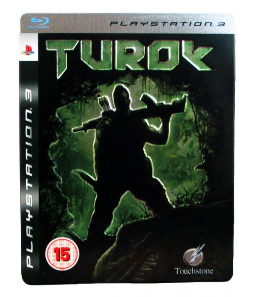 Turok. GAME Exclusive Steelbook Edition (PS3)