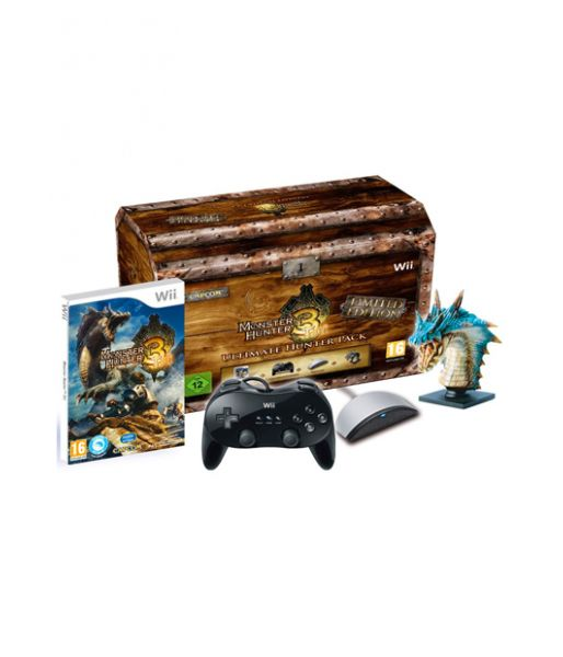 Monster Hunter Tri. Limited Edition - Ultimate Hunter Pack (Wii)