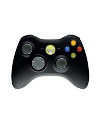 Wireless Controller Xbox 360 [Eng, Fr, Ger, IT, ES EMEA Black] (Xbox 360)